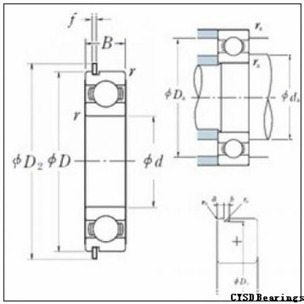 CYSD 1658-RS deep groove ball bearings #1 image