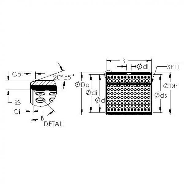 AST AST800 3230 plain bearings #2 image