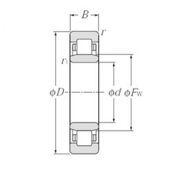 CYSD NU2326 cylindrical roller bearings #2 image